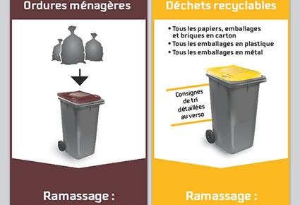 Lire la suite de l'actualité Nouveau calendrier 2021 des ordures ménagères